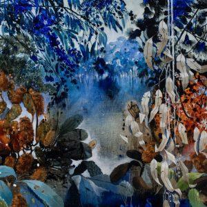 Bespoke Banksia Bushland Painting For Sale
