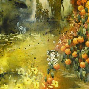 Landscape Painting of Citrus Creek