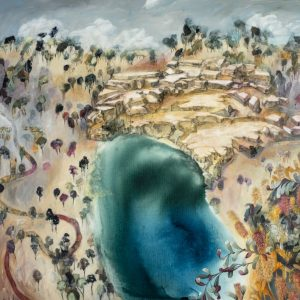 Landscape Painting of Blue Pool near Iluka to Buy Online
